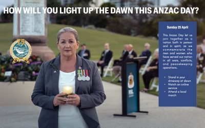 How will you light up the dawn this Anzac Day?
