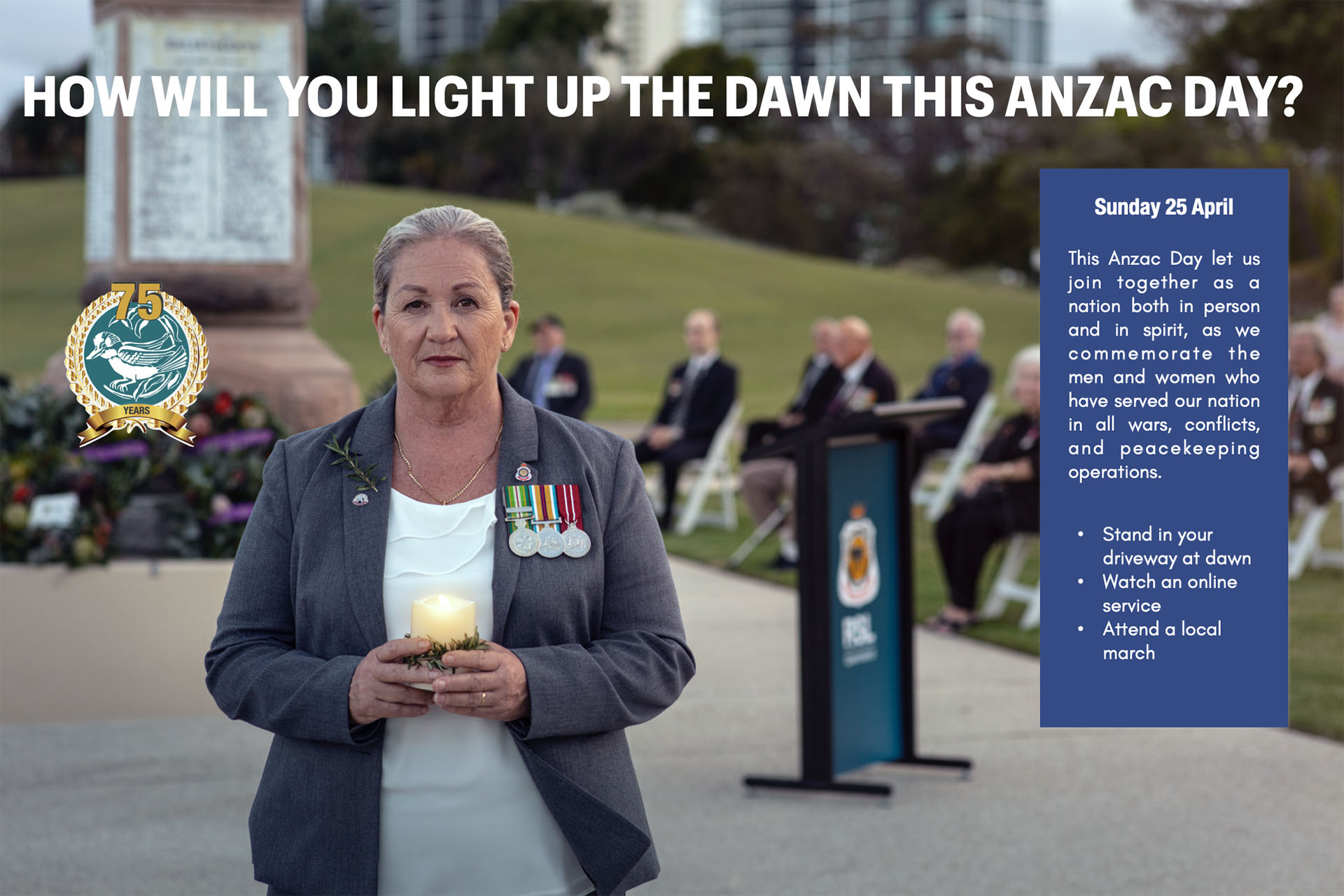 Light up the Dawn 2021